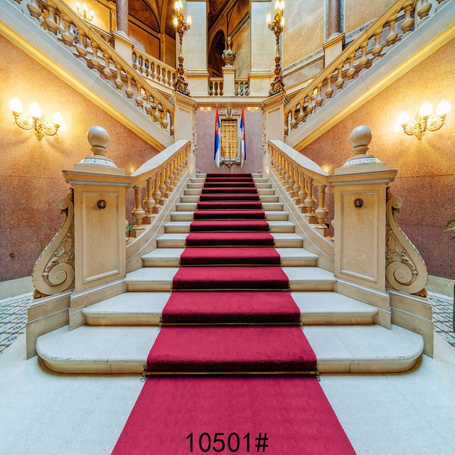 Lighting Staircase Decoration House Photography Backdrops Family