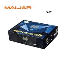 -V6 DE Mini Numérique Récepteur Satellite S V6 avec AV HDMI sortie 2 xUSB WEB TV USB Wifi Biss Key Youporn CCCAMD même que openbox v6s