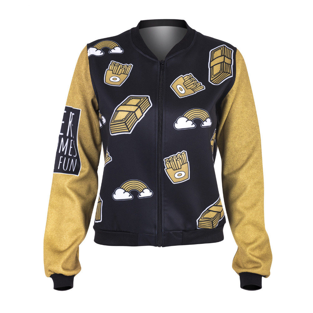 Jacket Gold Greams Printing  4