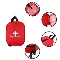 Красный на открытом воздухе неотложная медицинская сумка дома Кемпинг первой помощи Наборы мешок спасения высокой плотности ripstop