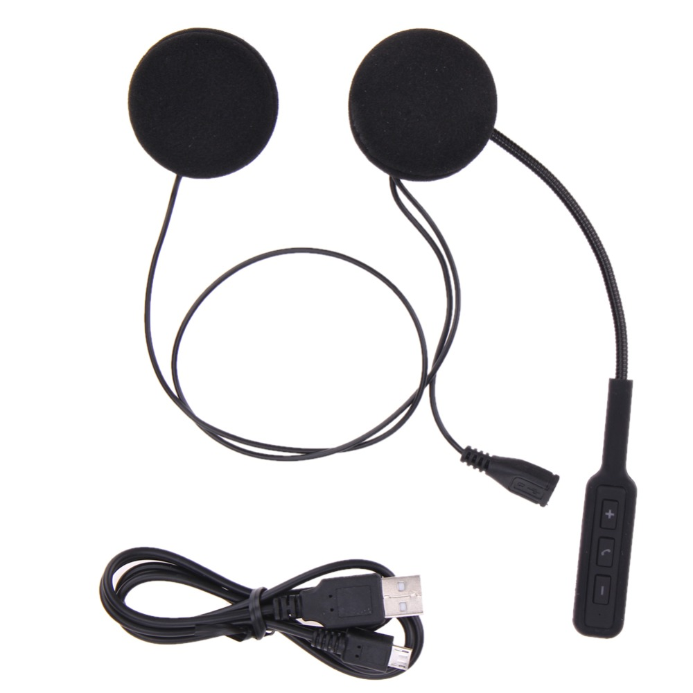 Moto Moteur Sans Fil Bluetooth Casque Moto Casque Écouteur Casque Haut-parleurs Mains Libres Musique Pour MP3 MP4 Smartphone