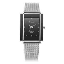 2017 New Watches Girls Stainless Metal band Informal Quartz Wristwatch Feminine Clock montre femme Girls Costume Present Watches