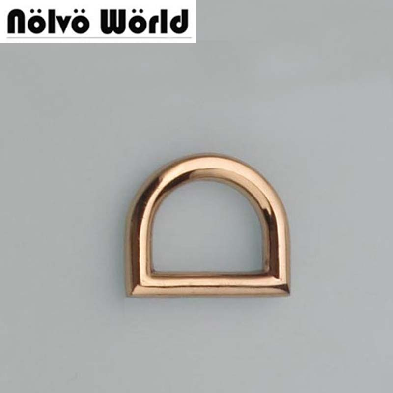 100PCS 13 10mm 1 2 inch inside high quality alloy material small dring bulk metal d