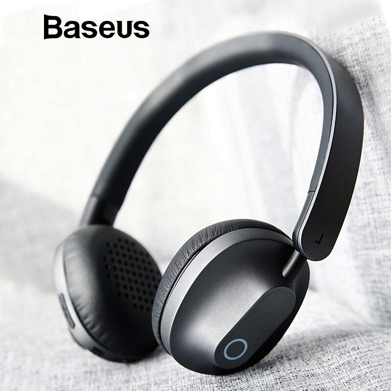 Baseus D01 Wireless Bluetooth Kopfhörer Stereo bluetooth kopfhörer wireless headset Junges haltung kopfhörer mit Mic für telefon