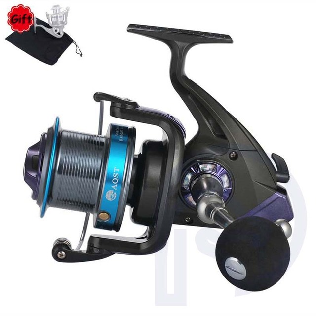 Long Throw Big Cup Fishing Reel 12+1BB Lightweight Right Left Hand Oxidized Aluminum Alloy Wire Cup Metal Spinning Fishing Wheel