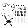 Spare Parts Crash Pack For Hubsan X4 H107L 7-in-1 Quadcopter Black/White #LD456