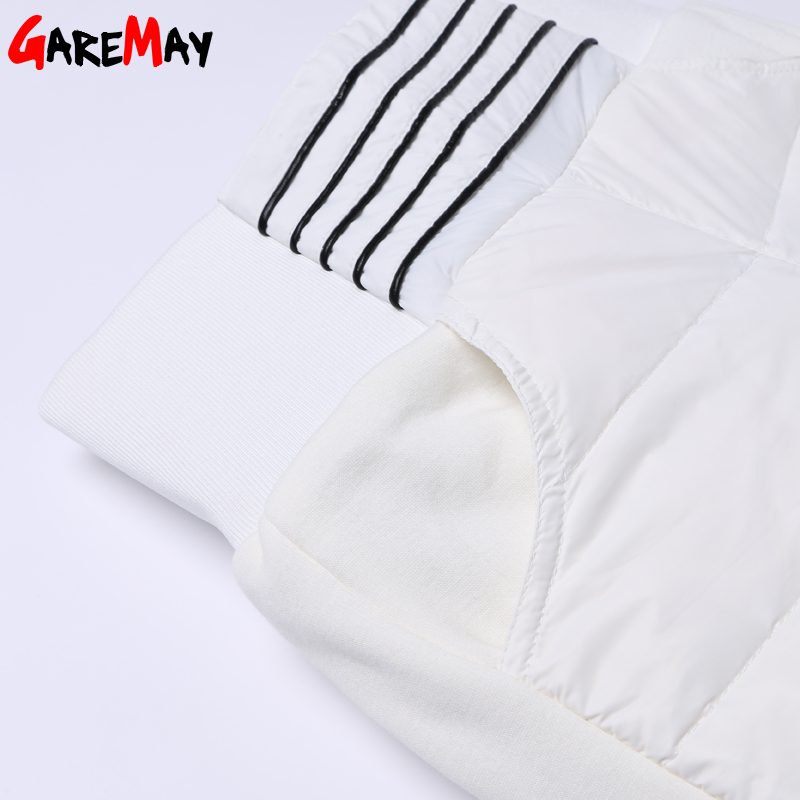 Warme Damenhose Winter 2020 Neue Winterhose Frauen Weiße Farbe Hohe - Damenbekleidung - Foto 6