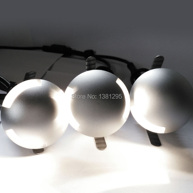12v ip67 waterproof outdoor led recessed deck floor light spot lamp paisagem iluminao led subterrneo luz ao ar livre luz do ponto de recesso kit ip67 3 workwithnaturefo