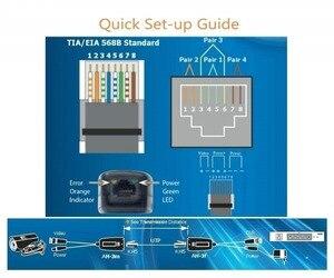 Image 5 - Адаптер Pripaso BNC для RJ45, 4 пары, Пассивный, с питанием, Full HD, 1080P 5MP, камера видеонаблюдения, кабель Ethernet