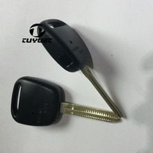 Remote Fob Case Replacement Car Key Shell With 1 Hole One Button On Side Of Plas