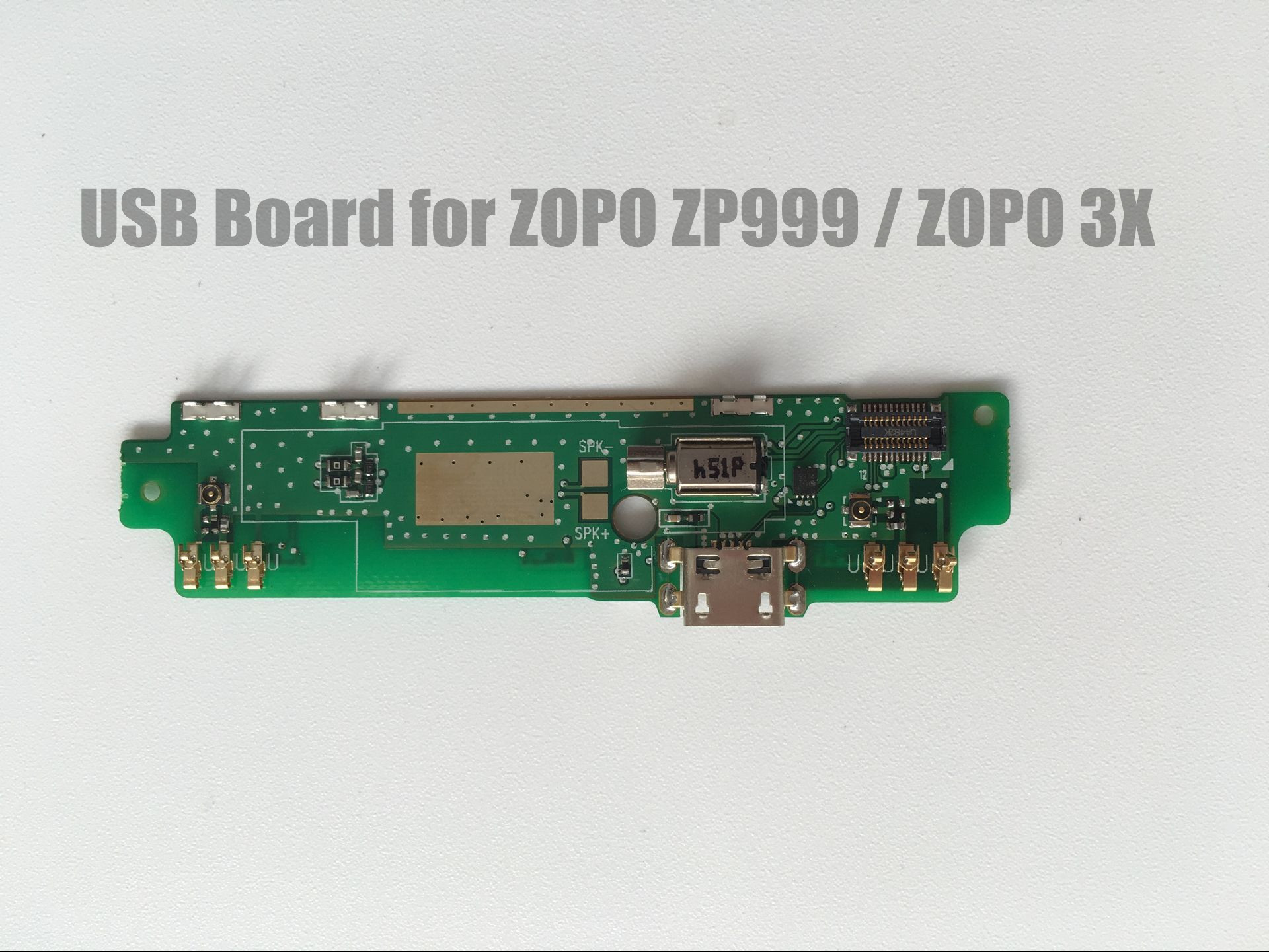 Original ZOPO ZP999 USB Board with Mic Accessories USB Charger Plug Board Module Replacement for ZOPO