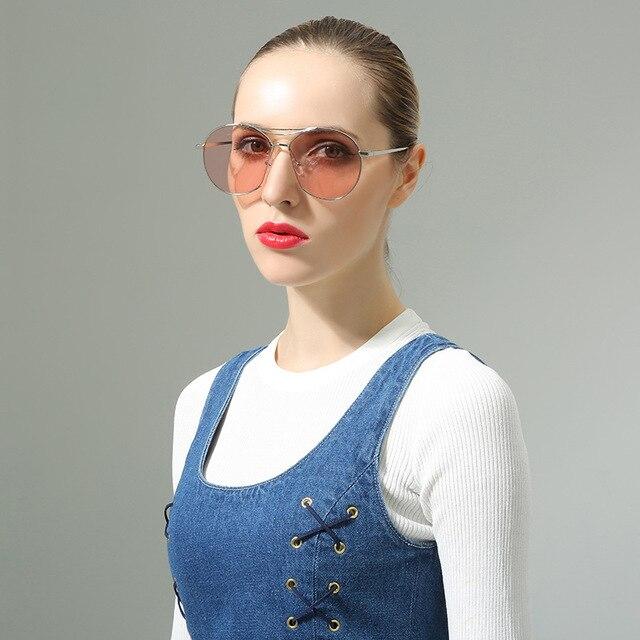 Óculos steampunk new carter marca de luxo das mulheres óculos de sol  femininos polarizada óculos de b7b726c379