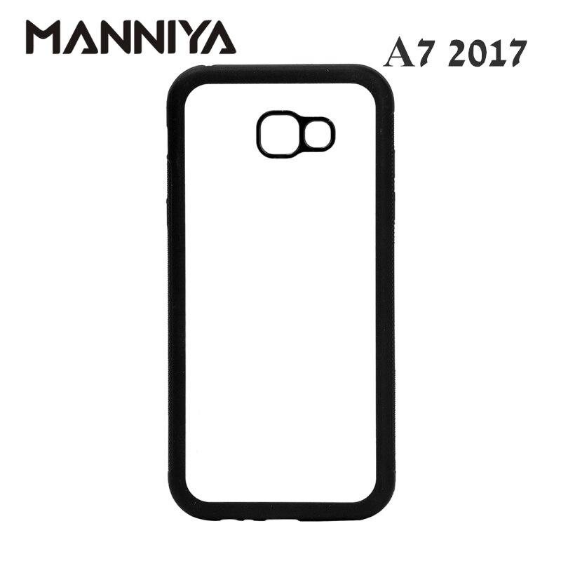 MANNIYA Boş Sublimasiya kauçuk TPU + PC üçün Case Samsung Galaxy - Cib telefonu aksesuarları və hissələri - Fotoqrafiya 2