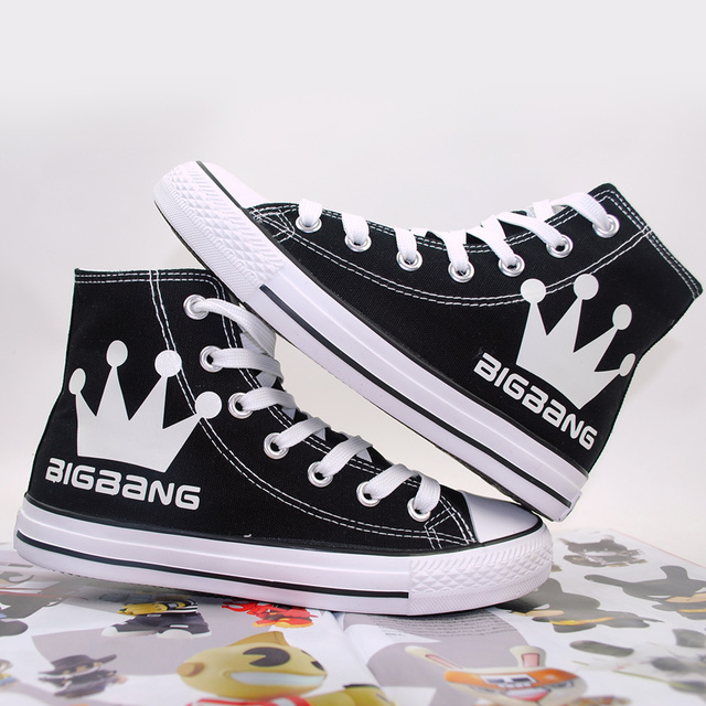 BIGBANG LIMINOUS HIGH TOP SHOES