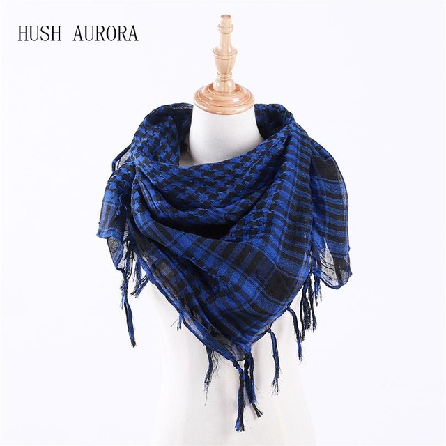 95091b2ade77c Hot Sale New Men Male Winter Military Arab Hijab Shemagh Tactical Wargame  Square Scarfs 100cm  100cm