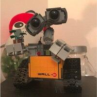 16003 Idea Robot WALL E Toys Model Building set Self Locking Bricks Blocks DIY Children Educational Birthday Gifts