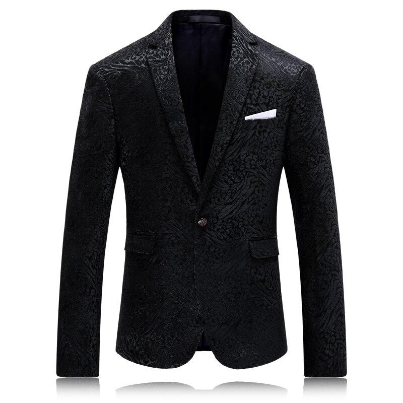 2016 Herbst Und Winter Neue Stil Herrenmode Freizeit Gedruckt Anzug Mann Hochwertigen Anzüge Jacke Blazer Xf106 Freies Verschiffen Verkaufspreis