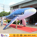 Marine theme toys Reinforce Oxford 8M giant inflatable whale