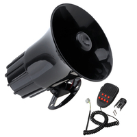 12V 50W free shipping 115db Tone Wehicle Car Motor Motorcycle Van Truck Siren Loud Horn Auto Speaker Alarm CAR Accesrrory