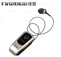 FineBlue F920 Original Wireless Driver Bluetooth Earphone Call Remind Vibration Wear Clip Bluetooth Headset Fone