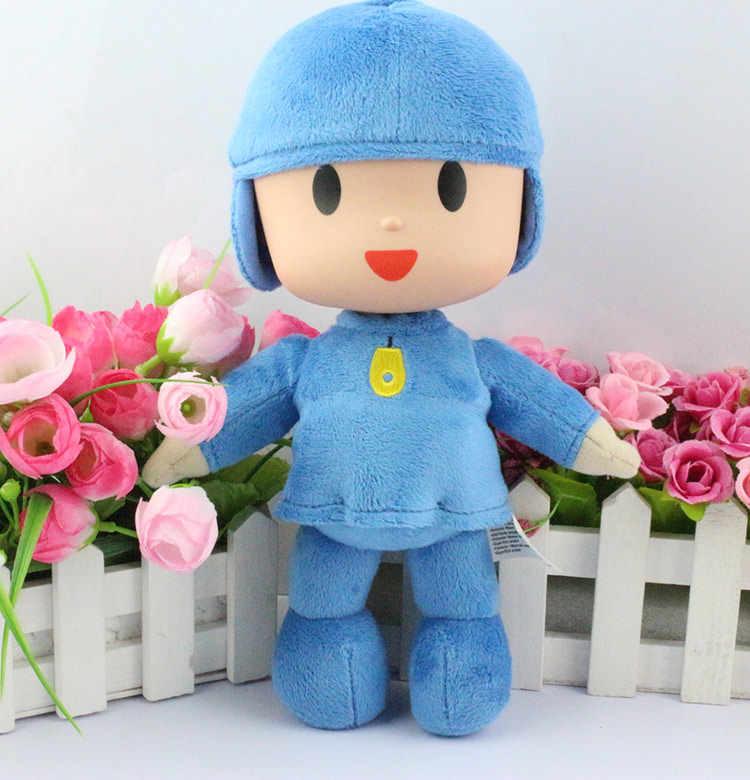1 pcs Pocoyo New Bandai Plush Pocoyo Plush Stuffed Figura 27 11 polegada cm