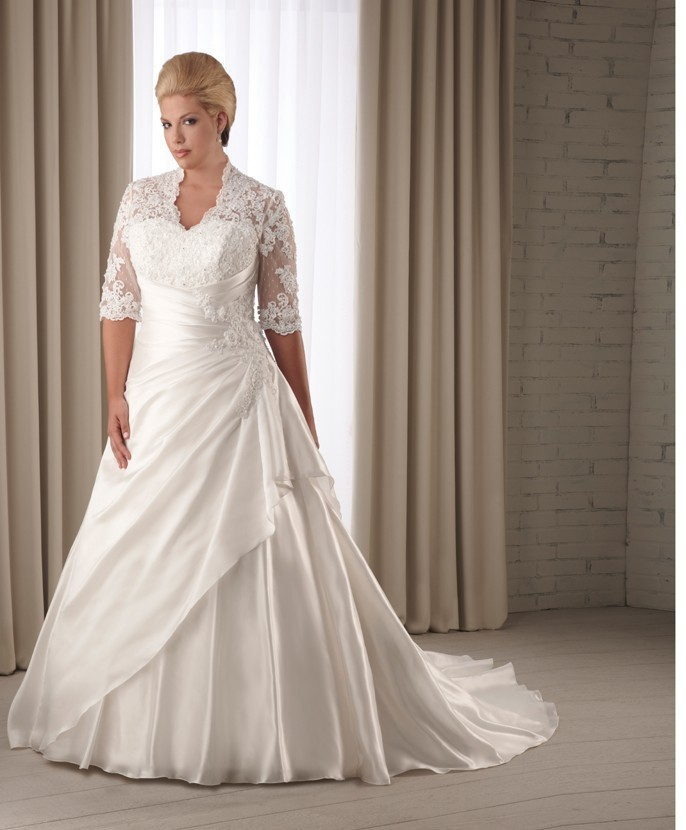 Plus size wedding dress - Ladybird Bridal - New collection
