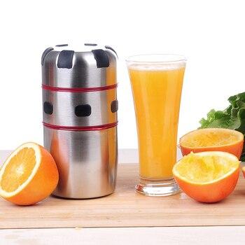 미니 과일 juicer 오렌지 레몬 휴대용 레몬 오렌지 압착기 감귤류 juicer 스트레이너와 컵 주방 과일 도구|착즙기|가전 제품 -