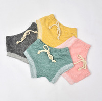 1 Pcs New Arrived 2016 Summer Cotton Candy Color Baby Girls Shorts Casual Newborn Bread Pants