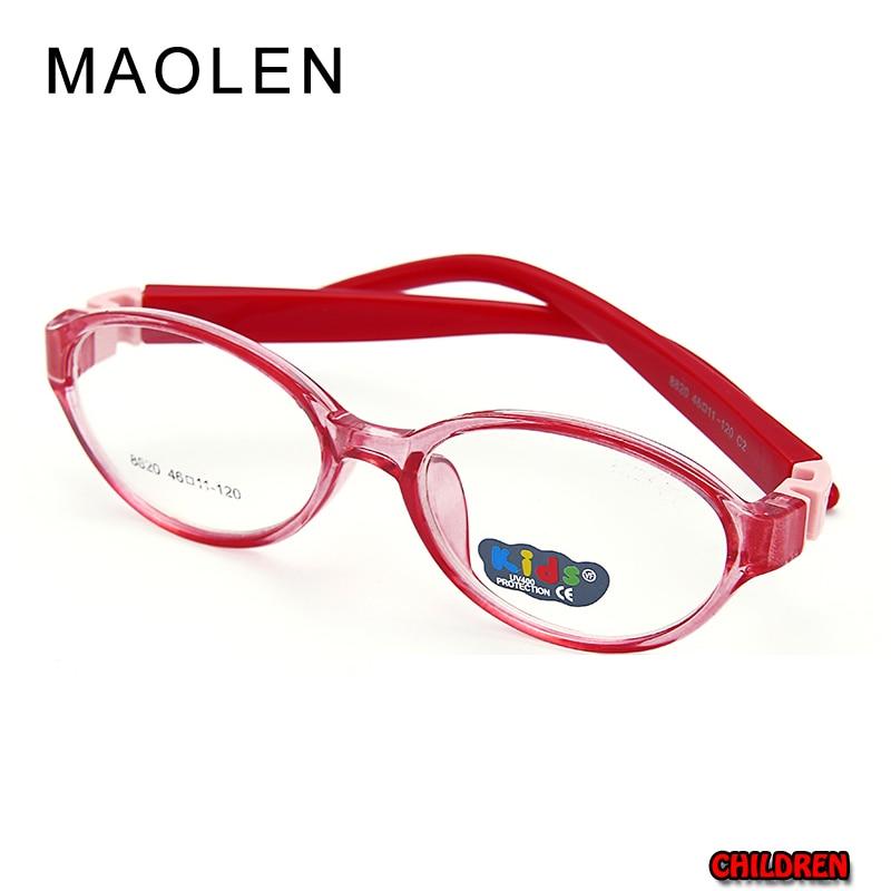 MAOLEN 208 New Student Brilles Frame Bērnu tuvredzība Recepšu - Apģērba piederumi