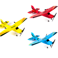 Z50 RC Airplane Plane 20 Minutes Flight Time Gliders 2.4G Flying Model with LED Hand Throwing Wingspan Foam Plane Toys Kid Gifts