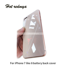 For iPhone 7 7Plus case Back Battery Cover Rear Door Housing Case Middle Chassis 7P Replacement For iPhone 7 like 8 Back Housing все цены
