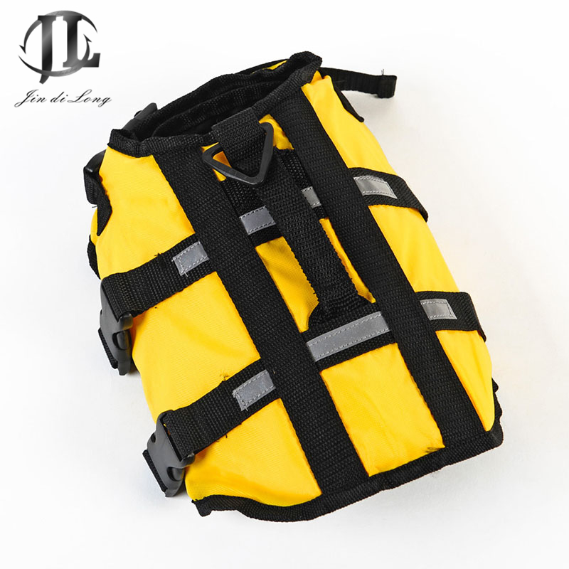 Low Price Clearance Sale Oxford&Foam Pet Dog Puppys Life Jackets Life Vest Professional Police Dog Training Floatation Device
