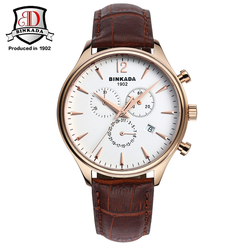 2017 Top Brand BINKADA Watch Men Full Steel Automatic Mechanical Watch For Men Luxury Wristwatch 30M Waterproof Erkek Kol Saati carotif automatic mechanical men watches montre full steel male watch reloj hombre waterproof skeleton watch men erkek kol saati page 8