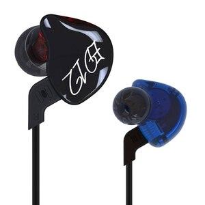 Image 5 - KZ ED12 Custom סגנון אוזניות להסרה כבל באוזן אודיו צגים רעש בידוד HiFi מוסיקה ספורט אוזניות עם מיקרופון