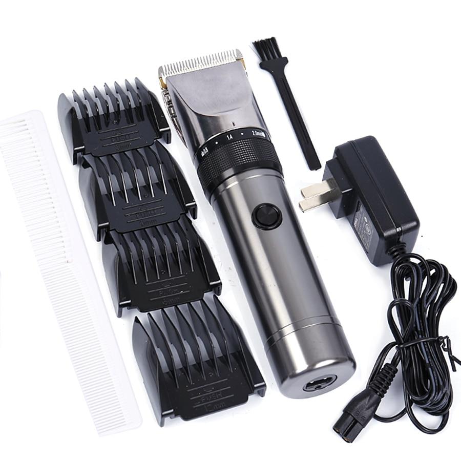 100 240V Professional hair clipper Lithium Battery Aluminum hair cutting machine X9 Hair trimmer Shaver Razor