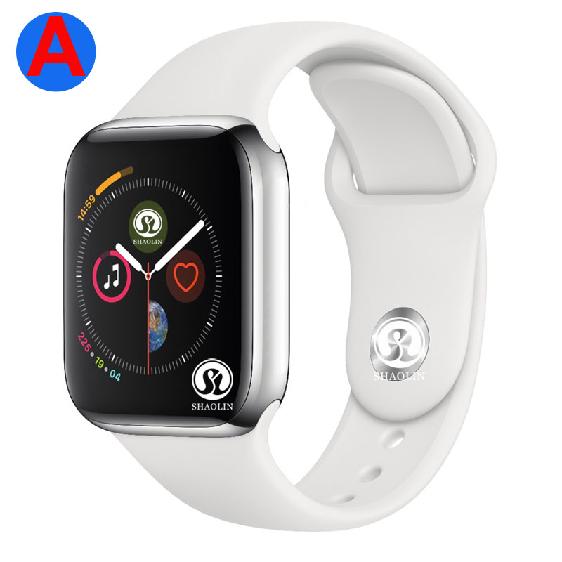 A Bluetooth Smart Watch Smartwatch Series 4 Men with Phone Call Remote Camera for IOS Apple