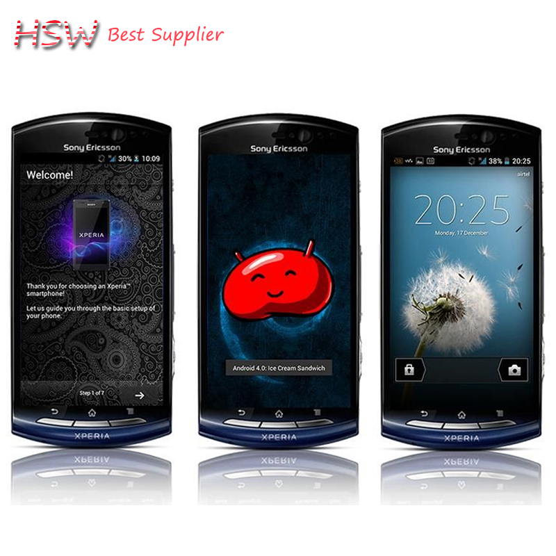 MT15i Original Sony Ericsson Xperia Neo MT15 3 7 TouchScreen Android GPS WIFI 8MP Unlocked Cell