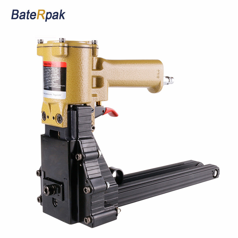 WA-012 BateRpak Pneumatic carton stapler,pneumatic sealing machine,woodworking nail gun,Nail size 35*15/19mm,WA-022 35*19/22mm wa