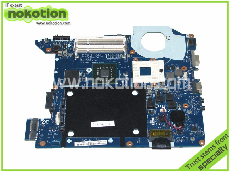 NOKOTION BA92-05564B BA92-05564A Laptop Motherboard for Samsung R428 BA41-01086A DDR2 GM45 hd graphics Mainboard nokotion laptop motherboard ba41 01181a for samsung r425 mainboard ba92 06034a ba92 06034b hd5145 512mb ddr2 tested