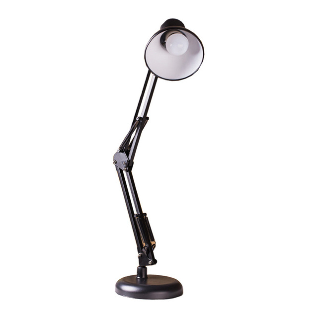 Hot Sale E27 LED Student Study Dormitory Work Office Bedroom Arm Folding Night Lights Table Lamp Book Desk Lamps