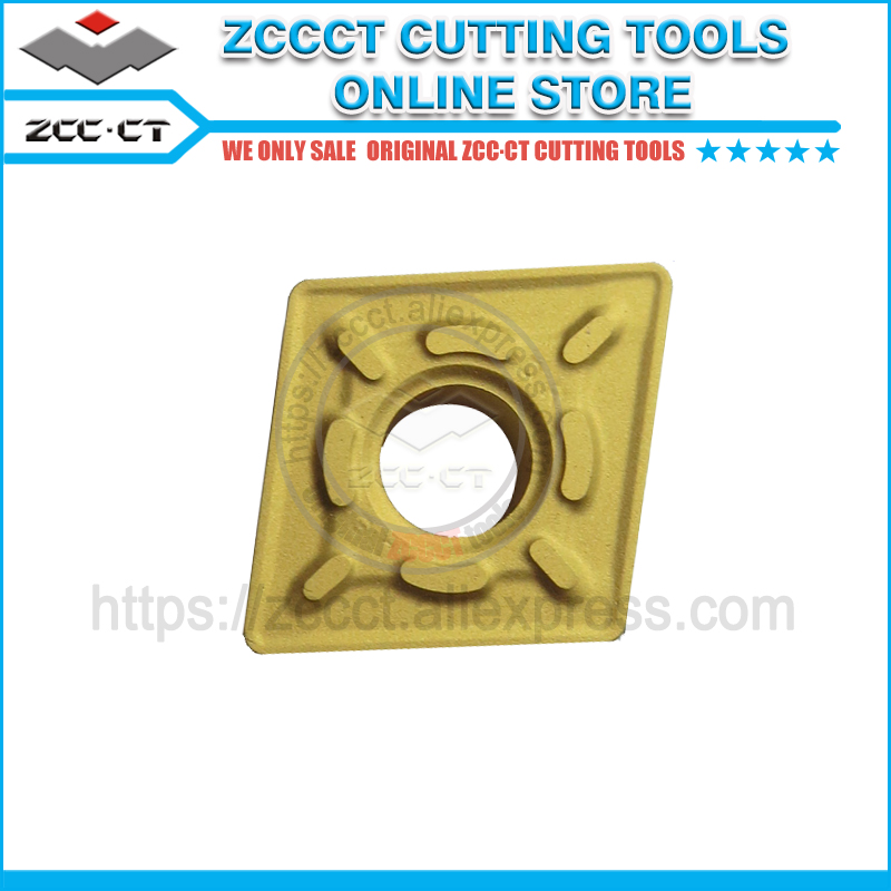 10pcs ZCC turning tool CNMG120408 DR YBC251 lathe cutter tools plate for roughing of steel