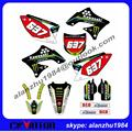 TOP QUALITY KX450F KXF450 09 10 11 2009-2011 MOTORCYCLE 3M GRAPHICS DECALS STICKERS KITS OFF ROAD MOTORCYCLE MOTOCROSS