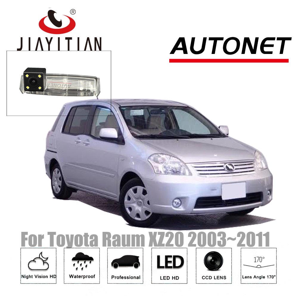 JIAYITIAN rearview camera For Toyota Raum XZ20 raum 2003~2011/CCD/Night Vision/Backup Camera license plate camera Reverse Camera