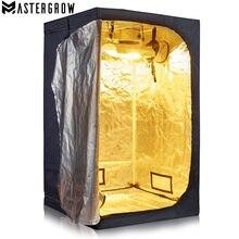 MasterGrow 120X120X200cm Coperta di Coltura Idroponica Crescere Tenda, Grow Room Scatola di Coltivazione di Piante, riflettente Mylar Non Tossico Giardino Serre