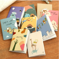 BPStudent Mini Cute Kawaii Notebook Writing Pads With Blank Paper Cartoon Animal Diary Book For Kids School Supplies 1003