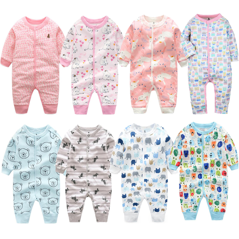 Pijama infantil Baby clothes girls pajamas overalls toddler boys pajamas newborn infant Jumpsuit baby   romper   climb clothin