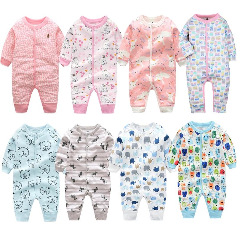 Pijama infantil Baby clothes girls pajamas overalls toddler boys pajamas newborn infant Jumpsuit baby romper climb clothin