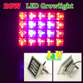 20W AC85-265V Led Grow Light Tent Lamp Plants Flower Greenhouse & Hydro System Fedex Free Shipping