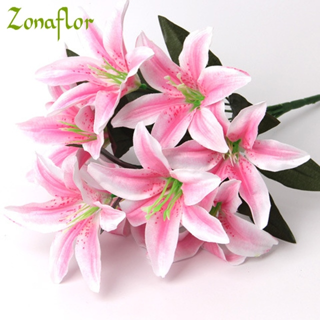 dhgate beach artificial decorative from clothes cewlhm manual diy flowers lily flower jasmine com decor hats headdresses orchid product
