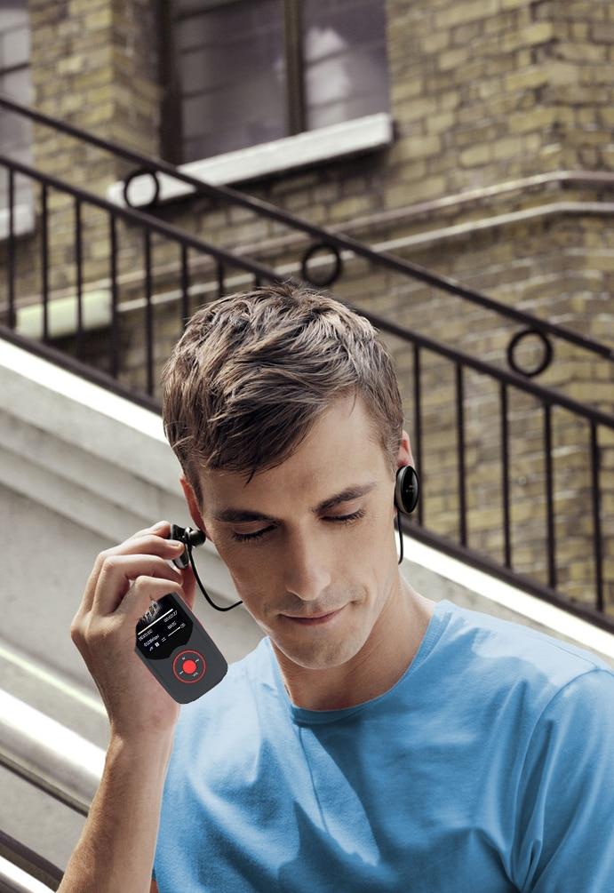 Оригинальный ruizu X06 MP3-плееры Bluetooth 16 ГБ музыкальный плеер Радом играть FM Регистраторы 1.8 дюйма Экран без потерь музыкальных плееров Рождеств...